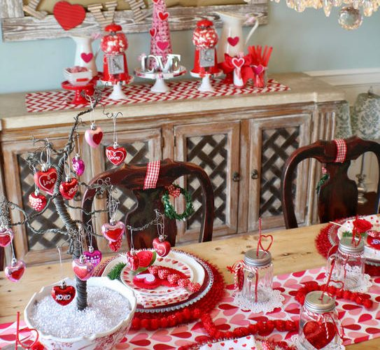 I Heart Valentine's Tablescape - Gallery Slide #10