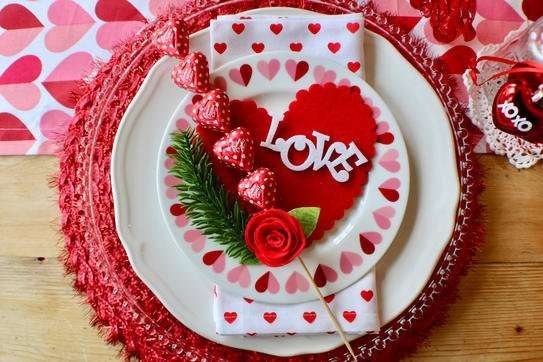 I Heart Valentine's Tablescape - Gallery Slide #4