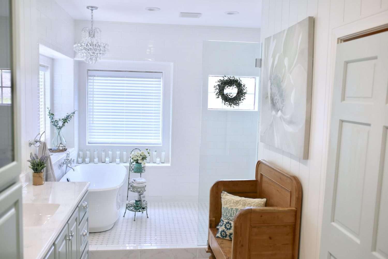 Artwork for my Freshly Remodeled Master Bathroom | CuterTudor