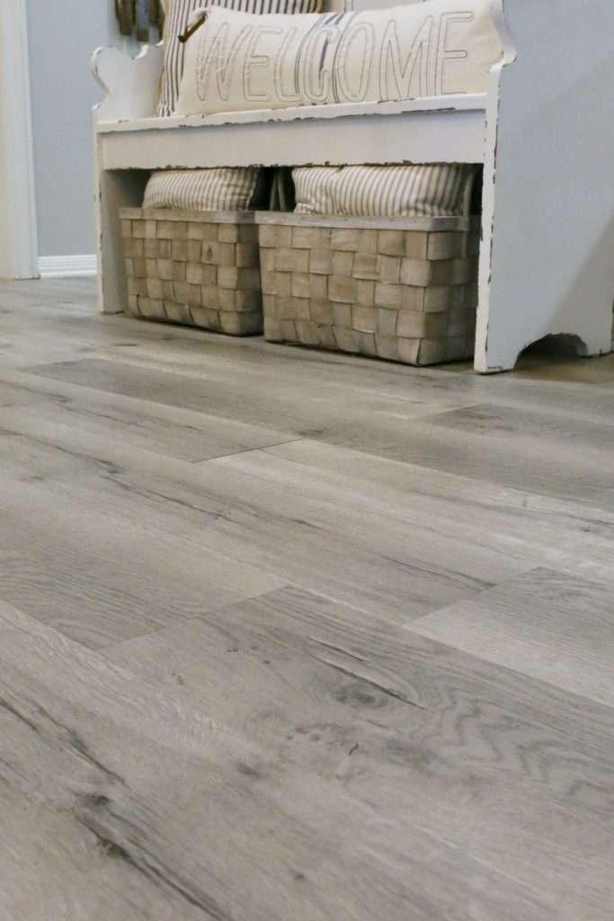 Updating A Kitchen With Vinyl Engineered Plank Flooring Cutertudor