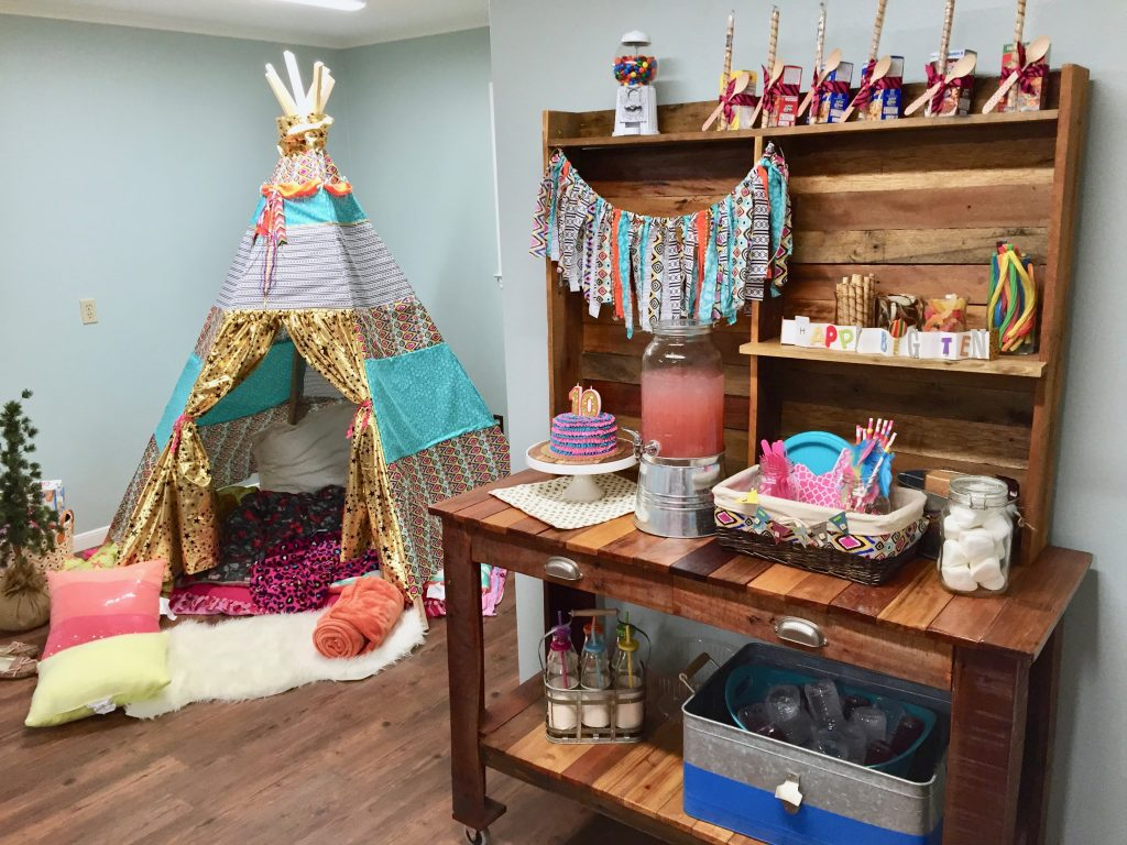 Glamping Kids Party