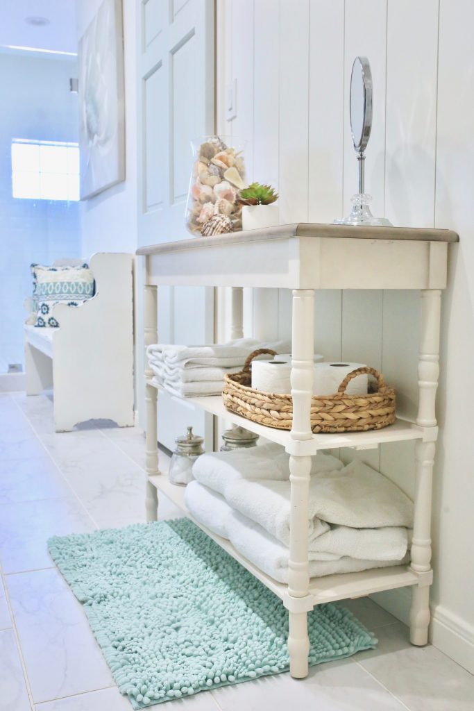 places to put a console table
