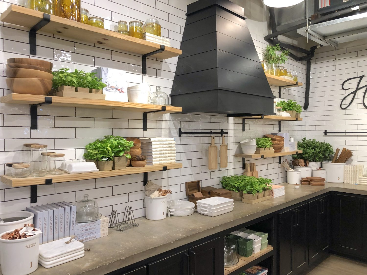 fixer upper style kitchen