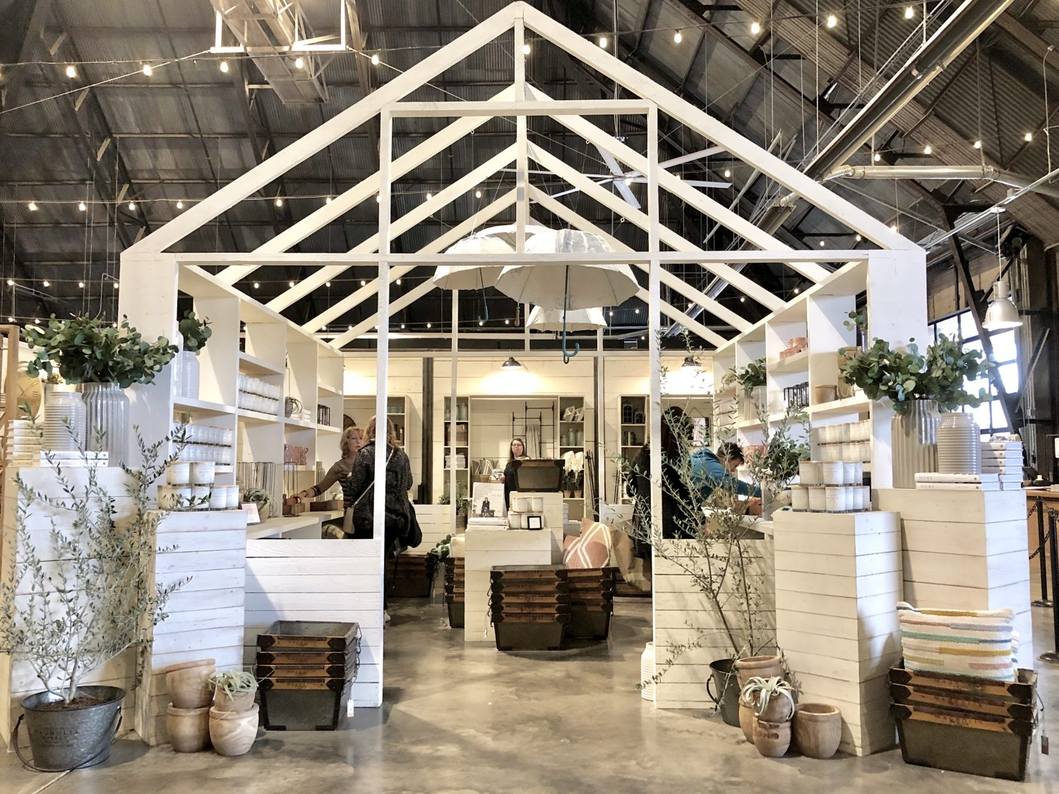Spring at the Silos inside magnolia market
