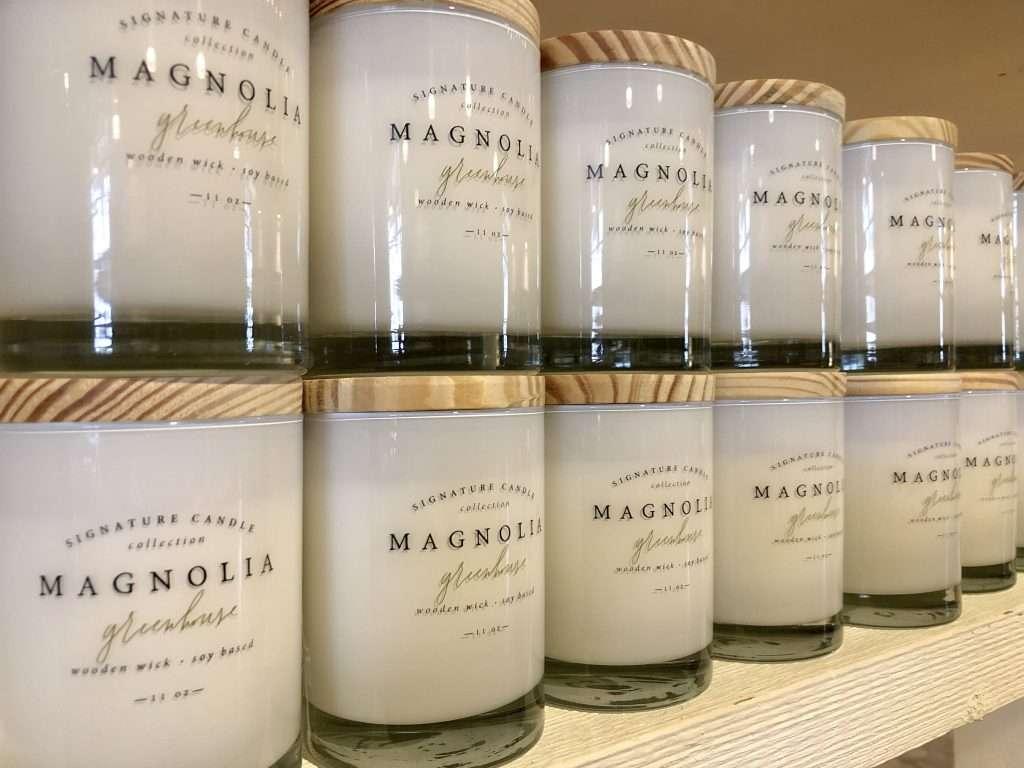 magnolia market candle